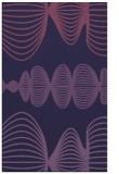 rug #581705 |  blue-violet circles rug