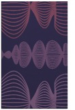 rug #581705    purple retro rug