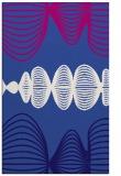 rug #581713    blue-violet circles rug