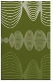 rug #581733 |  green circles rug