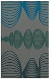 rug #581737 |  green circles rug