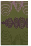 rug #581745 |  green circles rug