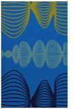 rug #581777 |  blue circles rug