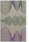 rug #581789 |  purple abstract rug