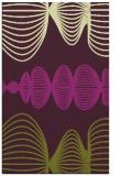 rug #581837 |  purple circles rug