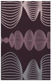 rug #581845    purple retro rug
