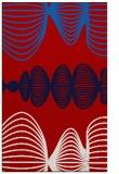 rug #581849 |  red circles rug