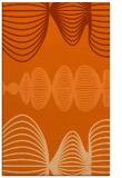 rug #581869    red-orange circles rug