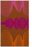 rug #581873 |  red-orange circles rug