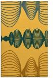 rug #581913 |  light-orange abstract rug