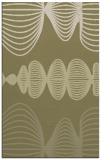 rug #581933 |  light-green retro rug