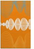 rug #581953 |  light-orange circles rug