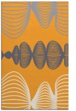 rug #581957 |  light-orange circles rug