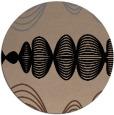 rug #581979 | round retro rug