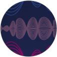 rug #581989   round blue circles rug