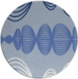 rug #582003 | round abstract rug