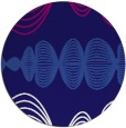 rug #582068 | round abstract rug