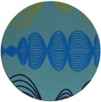rug #582131 | round abstract rug