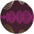 rug #582189   round purple circles rug