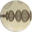 rug #582253 | round white circles rug