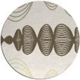 rug #582254 | round retro rug