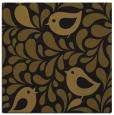 rug #584541 | square black animal rug