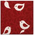 rug #584673 | square red animal rug