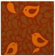rug #584681   square red-orange animal rug