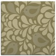 rug #584749 | square light-green animal rug