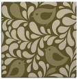 rug #584757   square light-green animal rug