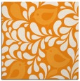 rug #584769 | square light-orange animal rug