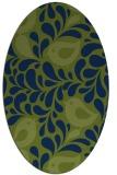 rug #584815   oval animal rug