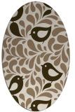 rug #584932   oval animal rug