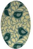 rug #584983 | oval animal rug