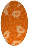 rug #585039   oval animal rug