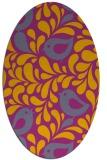 rug #585089 | oval animal rug
