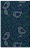 rug #585161 |  blue-green natural rug