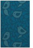 rug #585177 |  blue-green natural rug