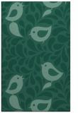 rug #585185 |  blue-green natural rug
