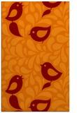 rug #585317 |  orange natural rug