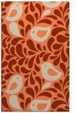 rug #585325 |  orange animal rug