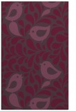 rug #585353    purple animal rug