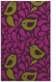 rug #585357 |  purple animal rug