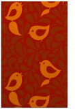 rug #585373 |  orange animal rug