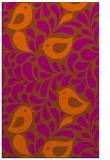 rug #585393 |  red-orange natural rug