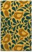 rug #585433    light-orange animal rug