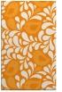rug #585473 |  light-orange animal rug