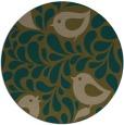 rug #585601 | round mid-brown natural rug