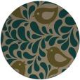 rug #585602 | round natural rug
