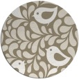 rug #585621 | round white rug